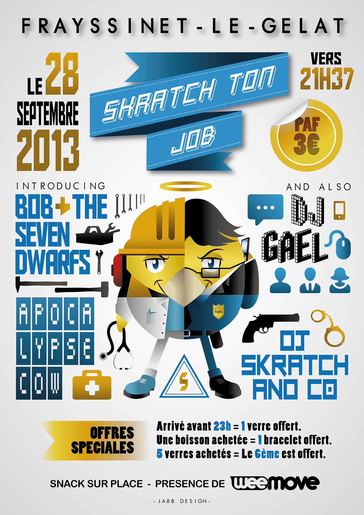 Skratch ton job