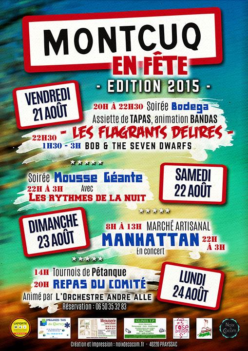 Montcuq en Fête 2015
