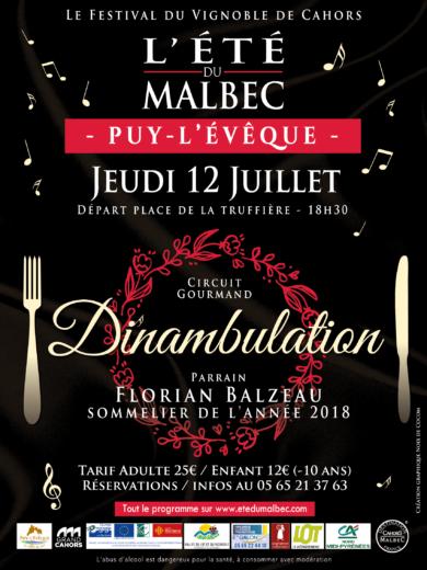 L'été du Malbec – Dinambulation