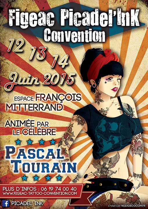 Affiche Picadel'ink convention
