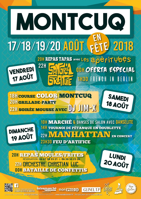 Montcuq en fête 2018