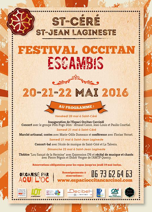 Escambis 2016 – Saint Céré