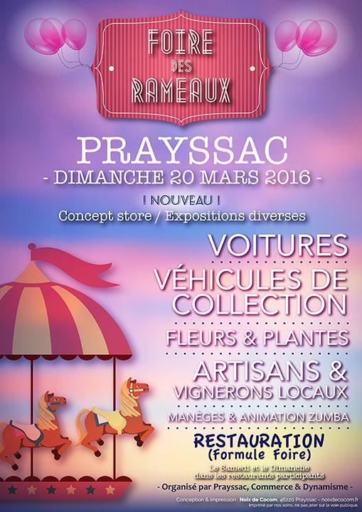Foire des rameaux 2016 – Prayssac