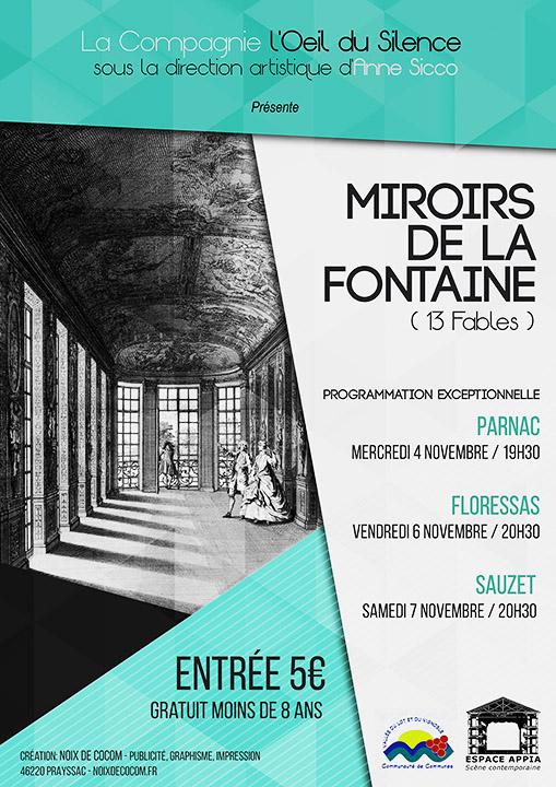 L'oeil du Silence – miroirs de la fontaine