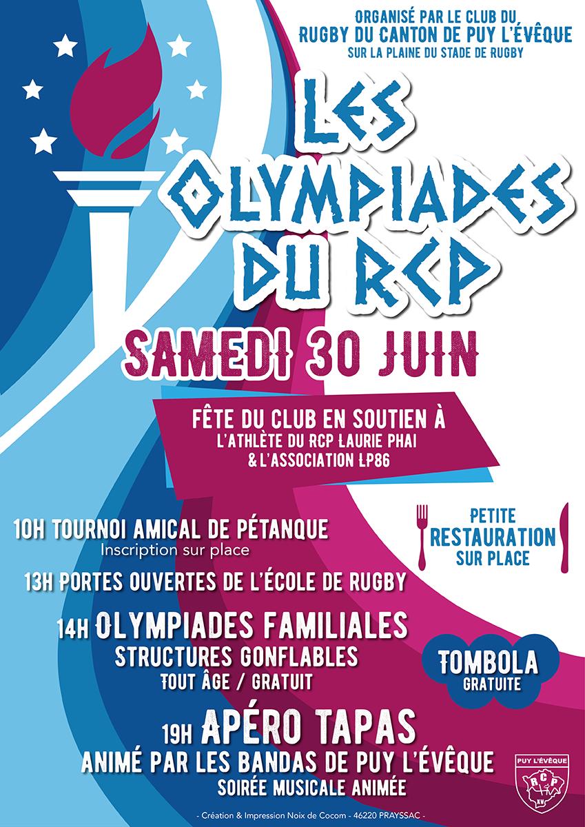 Olympiades du RCP