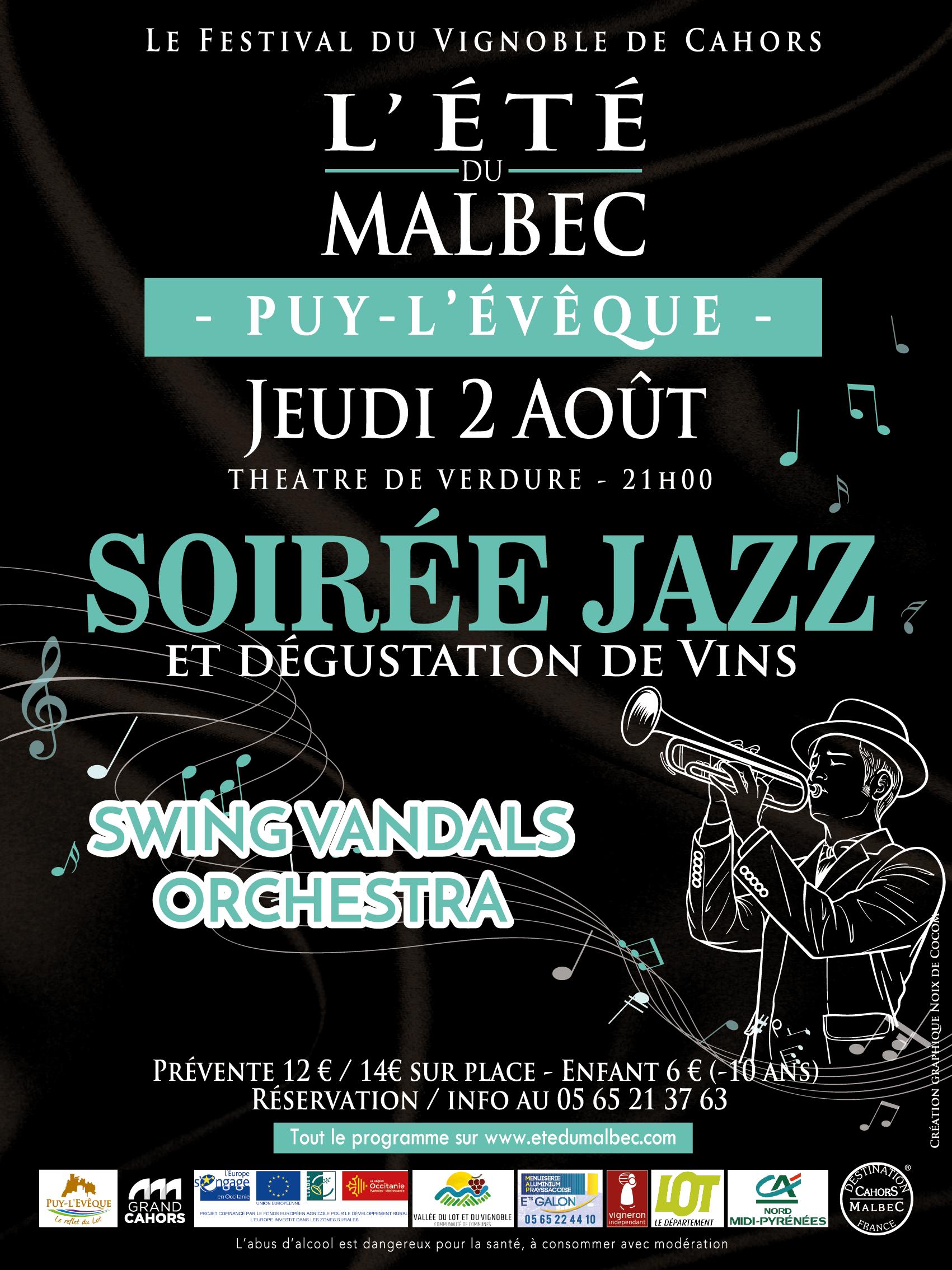 L'été du Malbec – Soirée Jazz
