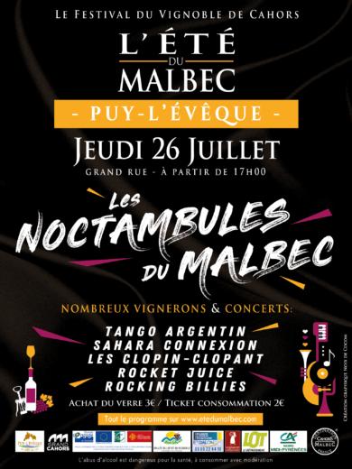 L'été du Malbec – Soirée Noctambulles