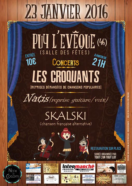 Concert Puy l'Evêque