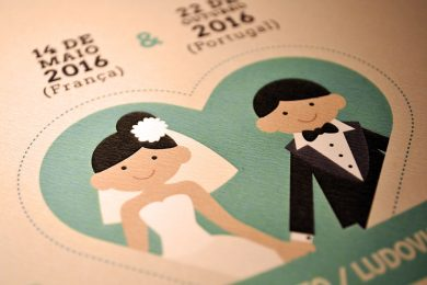 Cartes de mariage