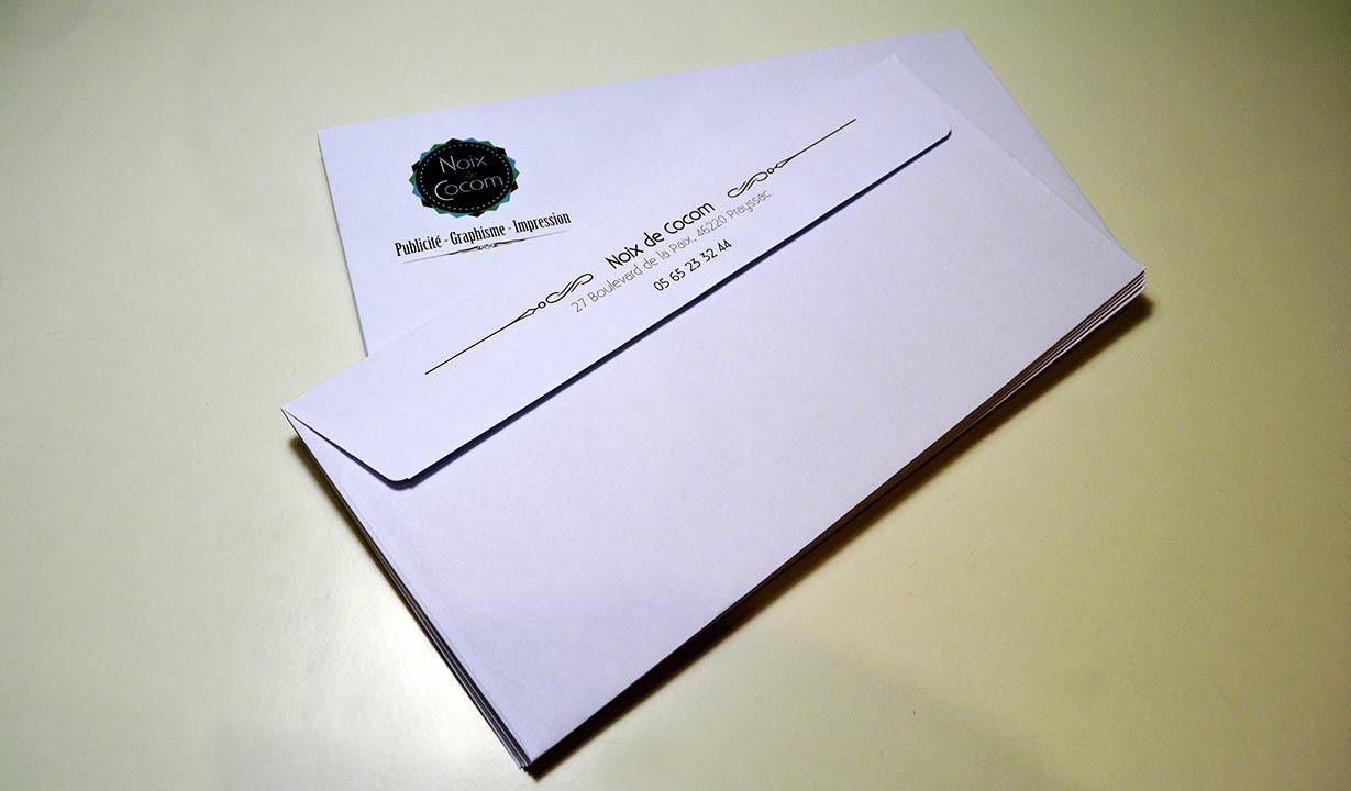 Enveloppes personnalisées