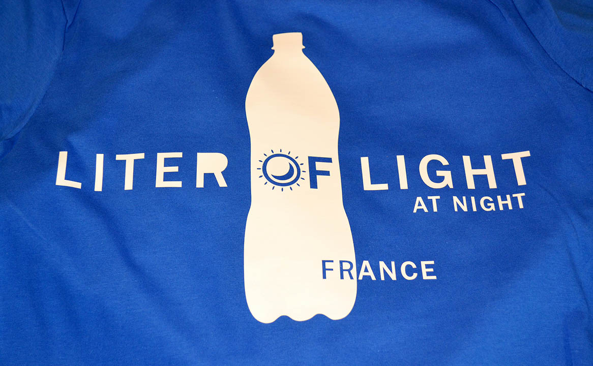 T-shirt liter of light