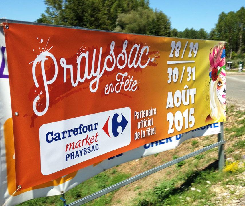 Banderole Prayssac