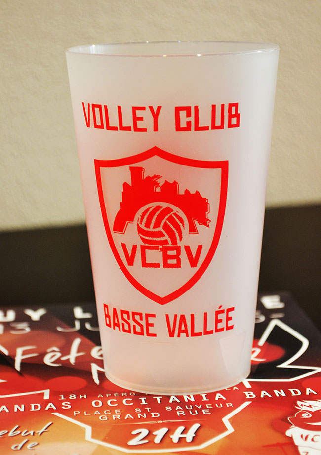 Ecocup – Volley club basse vallée